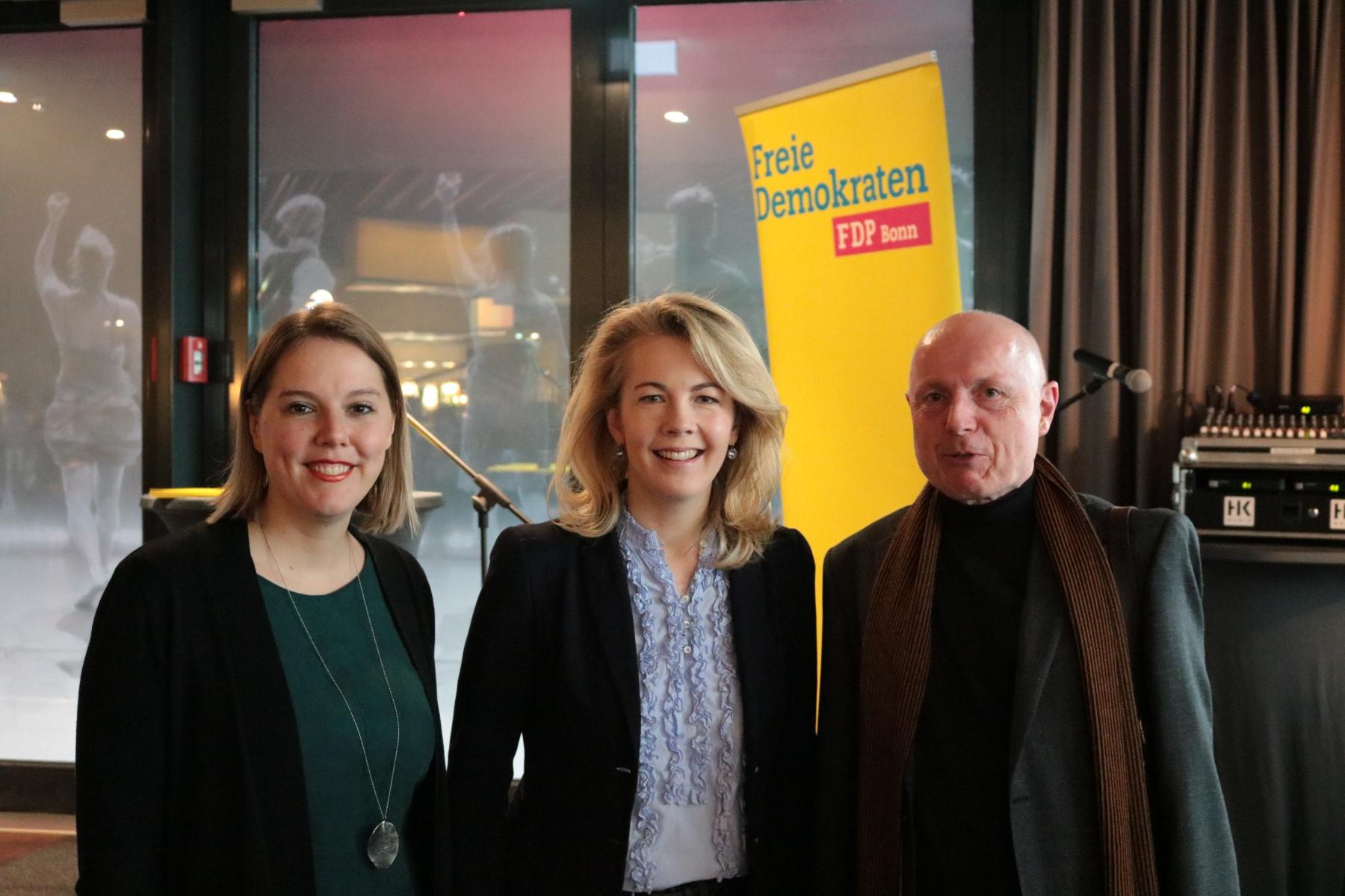 Linda Teuteberg und Franziska Müller-Rech im Gespräch