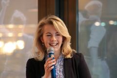 Linda Teuteberg bei ihrem Impulsvortrag
