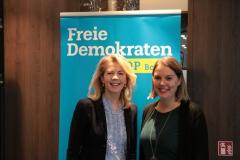 Linda Teuteberg mit Franziska Müller-Rech